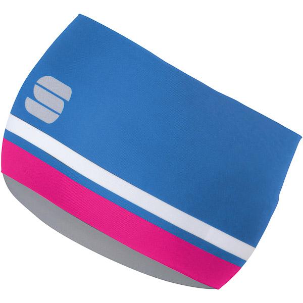 Sportful Diva Dámska čelenka  modrá/ružová/biela