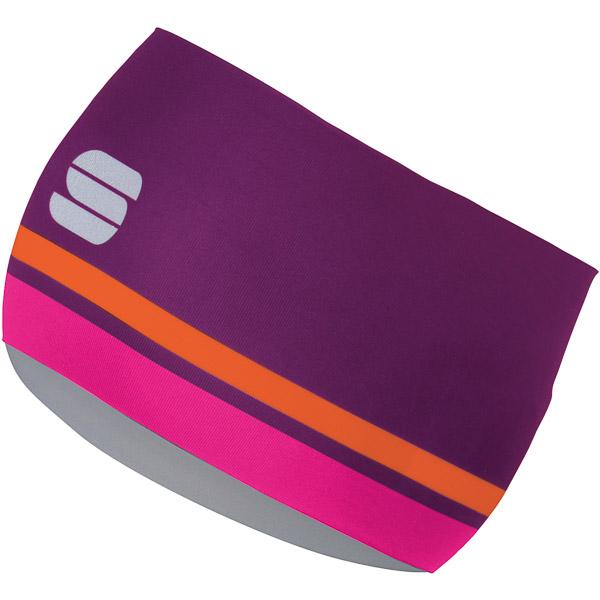 Sportful Diva Dámska čelenka  purpurová/ružová/oranžová