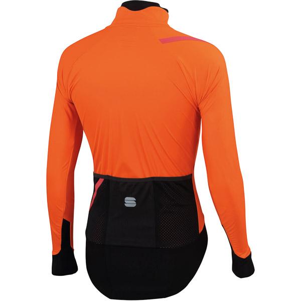 Sportful Fiandre Pro cyklo bunda oranžová