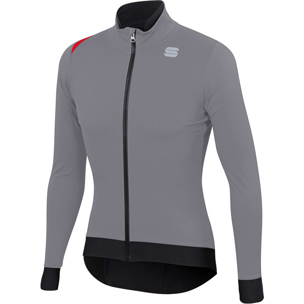 Sportful Fiandre Pro Medium bunda sivá/antracitová