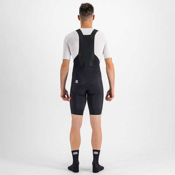 Sportful Fiandre NoRain Pro kraťasy s trakmi čierne