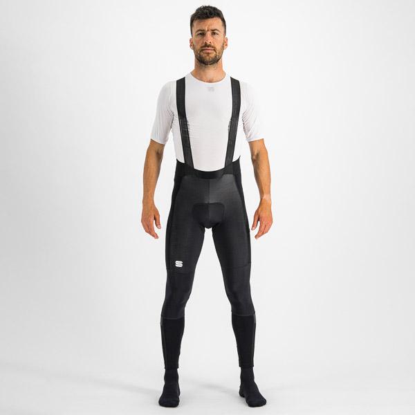 Sportful Supergiara nohavice s trakmi čierne