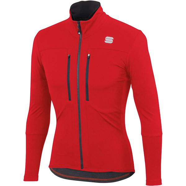 Sportful GTS bunda  červená/antracitová