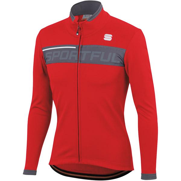 Sportful Neo Softshell bunda  červená/antracitová