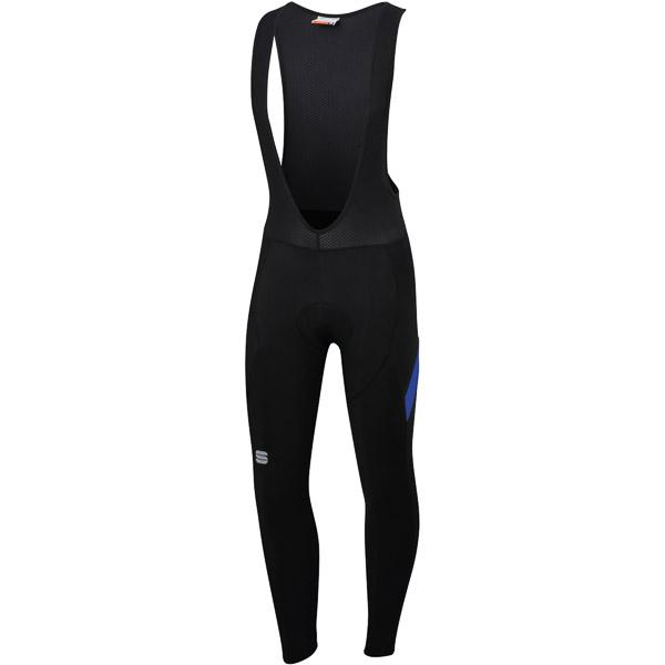 Sportful Neo nohavice s trakmi čierne/modré