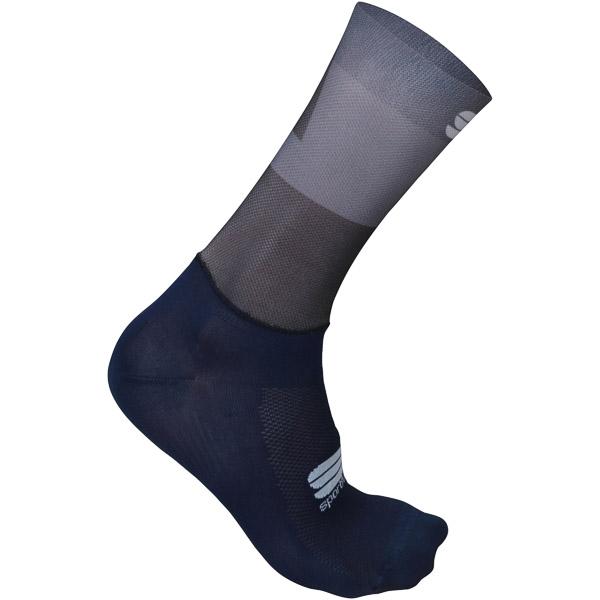 Sportful Pro Light ponožky čierne/antracitové
