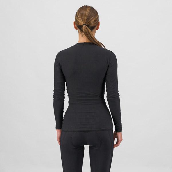 Sportful BodyFit Pro dámske tričko s dlhým rukávom čierne