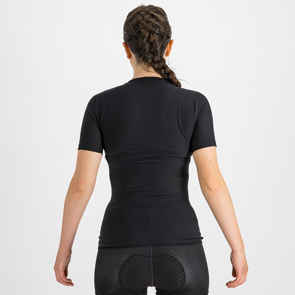 Sportful BodyFit Pro dámske tričko s krátkym rukávom čierne