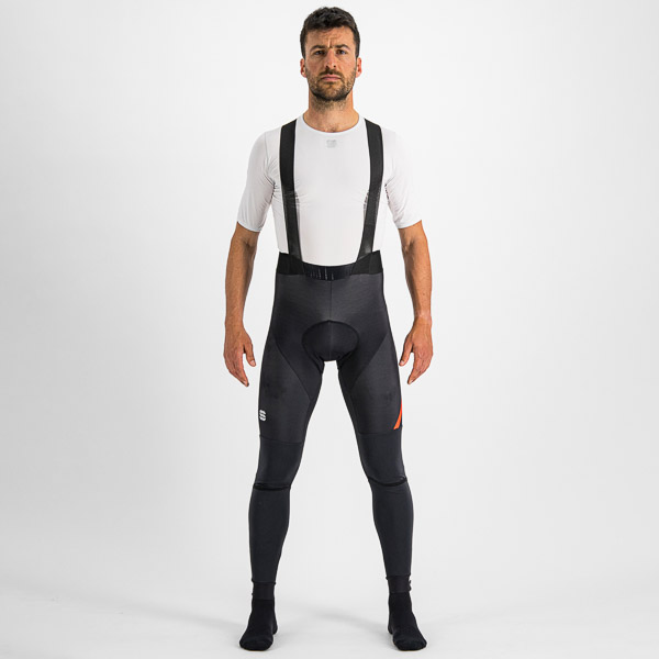 Sportful FIANDRE nohavice s trakmi čierne