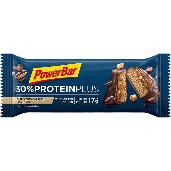 PowerBar ProteinPlus 30% tyčinka 55g Cappuccino-Karamel