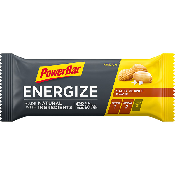 PowerBar Energize tyčinka 55g Slané arašidy