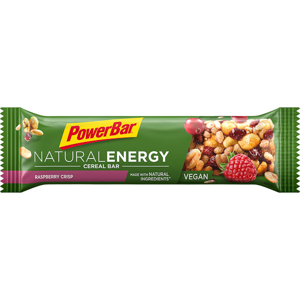 PowerBar Natural Energy Cereal tyčinka 40g Malina Chrumky
