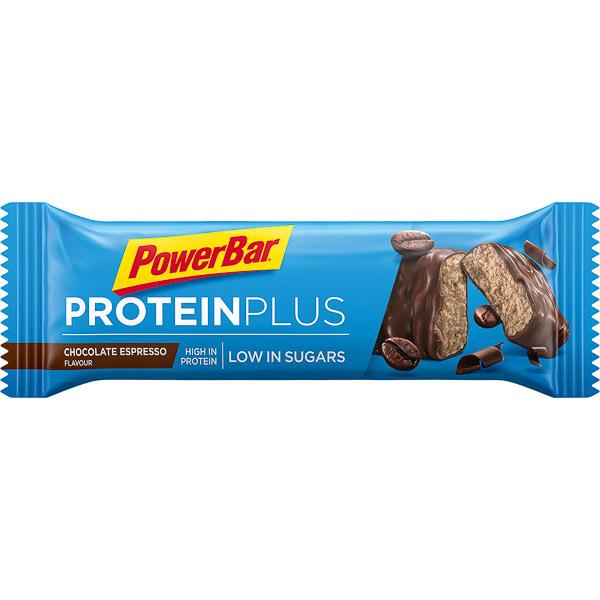 PowerBar ProteinPlus Low Sugar tyčinka 35g Čokoláda - Espresso