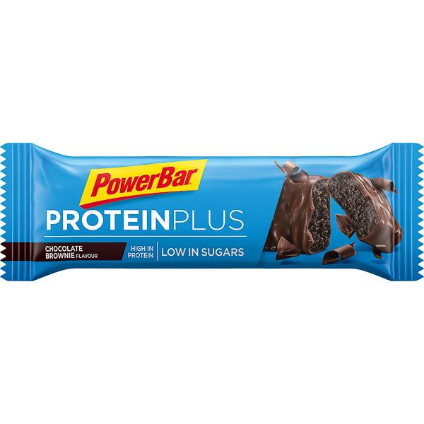 PowerBar ProteinPlus Low Sugar tyčinka 35g Čokoláda/Brownie