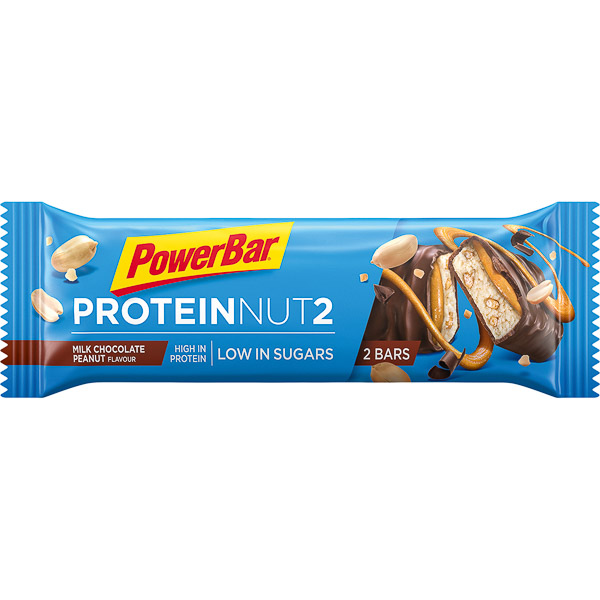 PowerBar Protein Nut2  tyčinka 2x22,5g Čokoláda/Arašidy