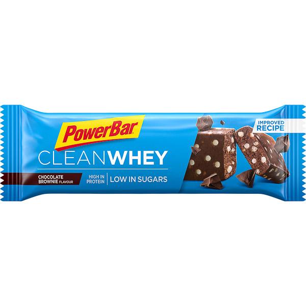 PowerBar Clean Whey Protein  tyčinka 45g Čokoláda - Brownie