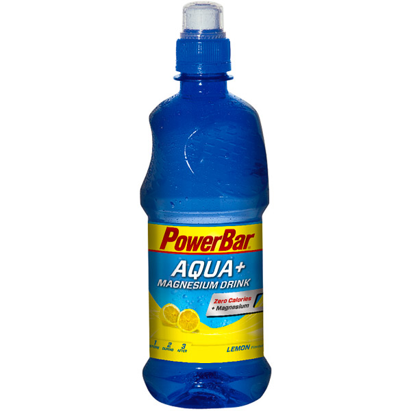 PowerBar Aqua + Magnesium nápoj 500ml PET fľaša Citrón