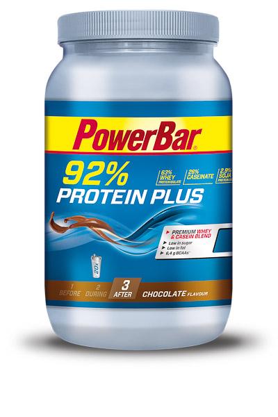 PowerBar ProteinPlus 92% Protein Dóza 600g Čokoláda