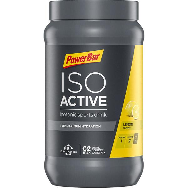 PowerBar IsoActive – izotonický športový nápoj 600g Citrón