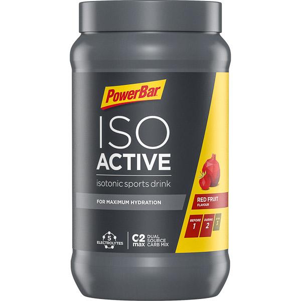 PowerBar IsoActive - izotonický športový nápoj 600g č. ovocie