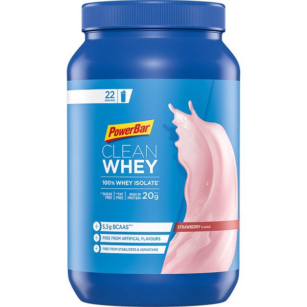 PowerBar Clean Whey 100% Čistý srvátkový izolát 570 g Jahoda