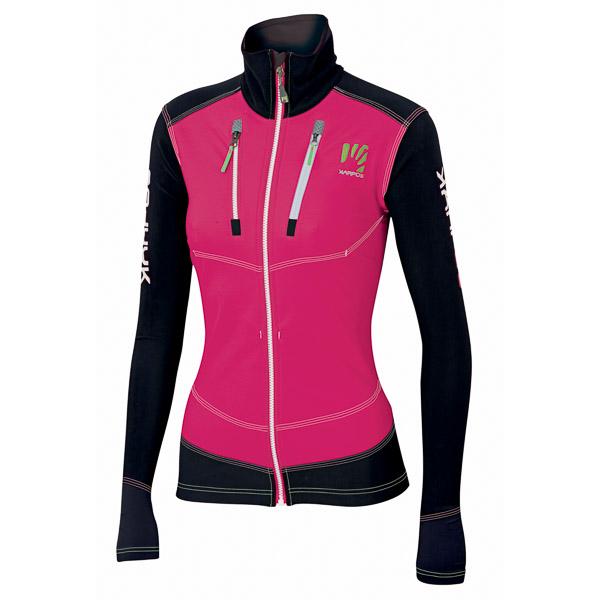 Karpos ALAGNA dámska bunda ružová/čierna