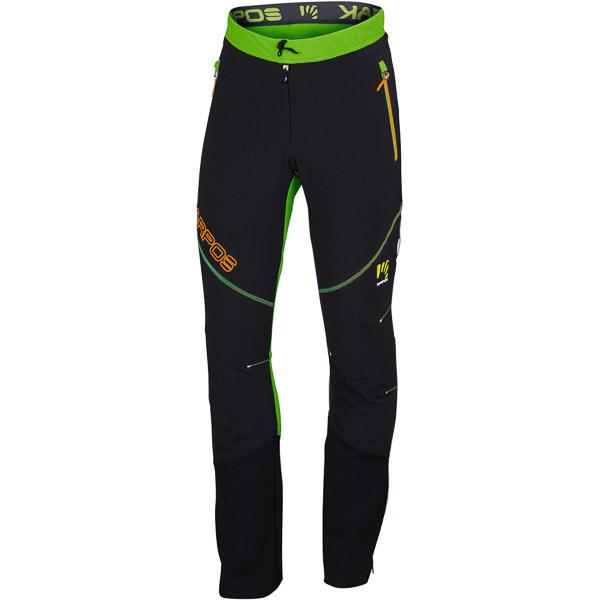 Karpos ALAGNA PLUS Nohavice zelené/čierne