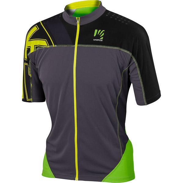 Karpos TECK dres zelený/sivý/čierny