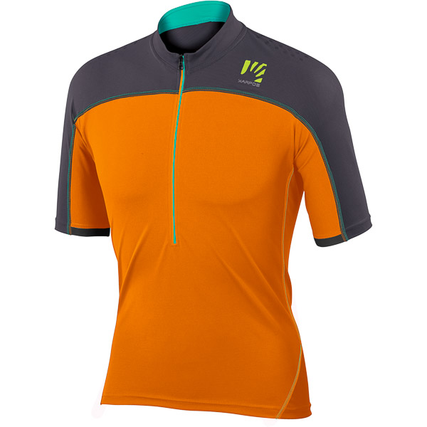 Karpos RAPID dres fluo oranžový/sivý