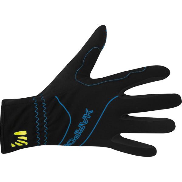 Karpos ALAGNA rukavice čierne/modré