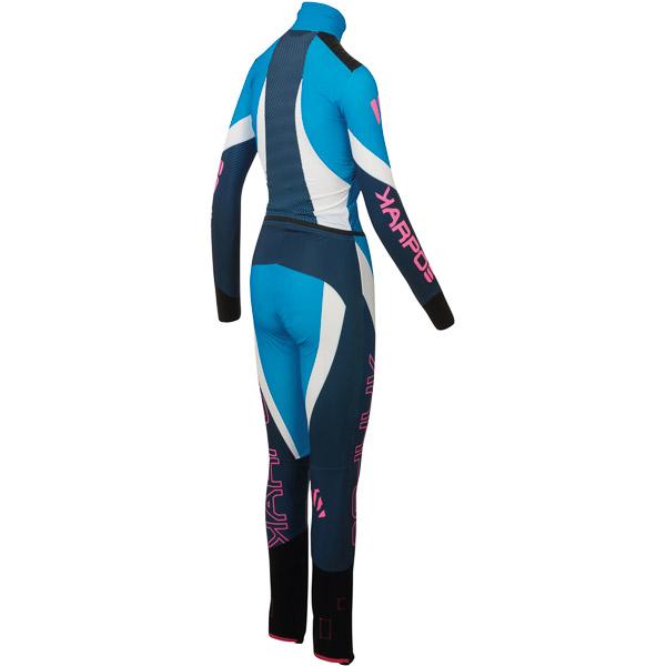 Karpos RACE dámska kombinéza modrá
