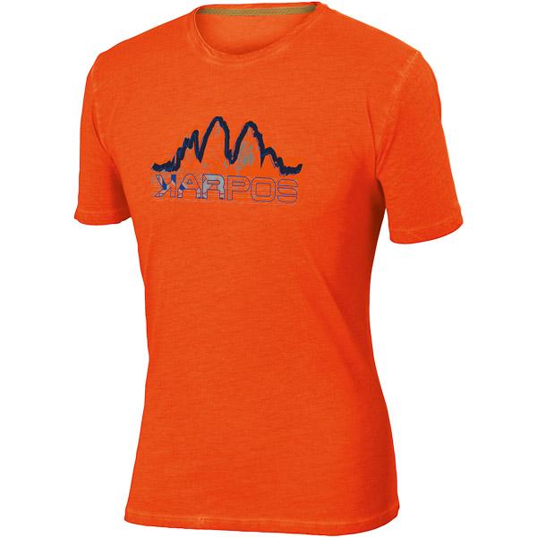 Karpos IGNE WALL Tričko, oranžové