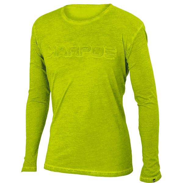 Karpos FALCHI  tričko dlhý rukáv svetlozelené