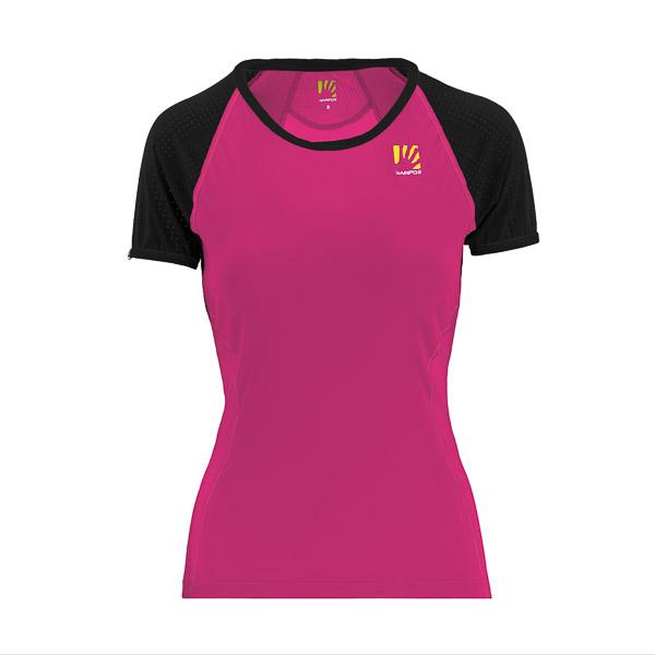 Karpos LAVAREDO dámske tričko ružové/čierne