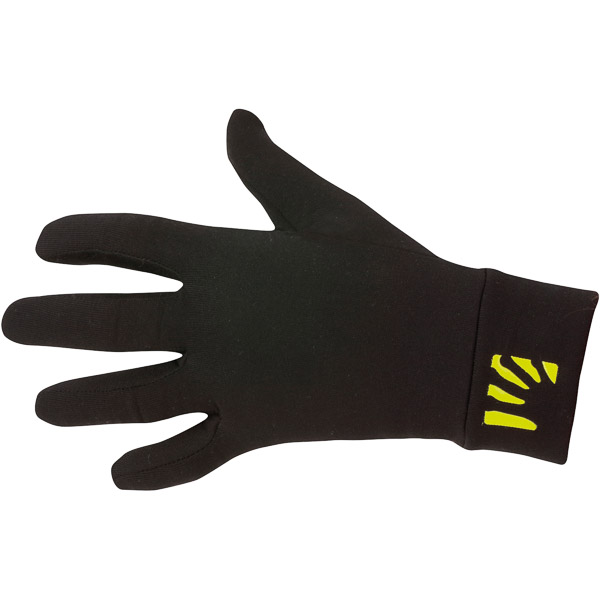 Karpos POLARTEC rukavice čierne