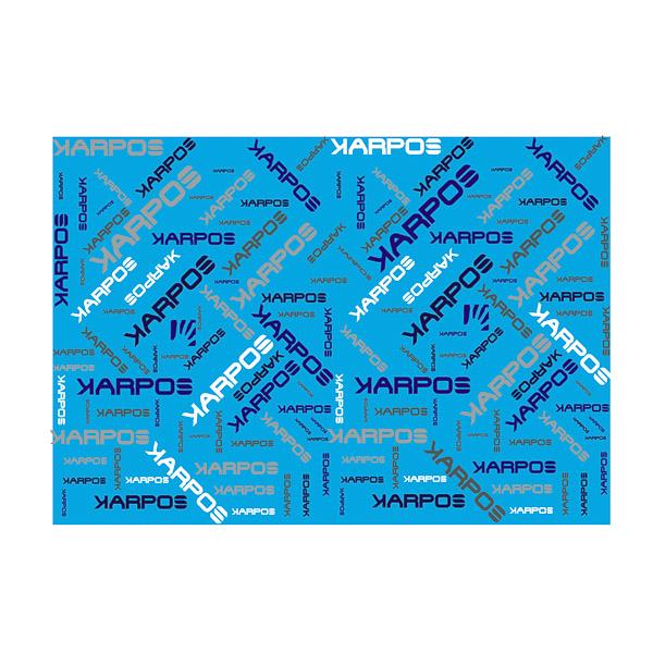 Karpos PELMO nákrčník modrý/biely/sivý