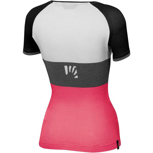 Karpos MOVED EVO dámske tričko ružové/čierne/biele