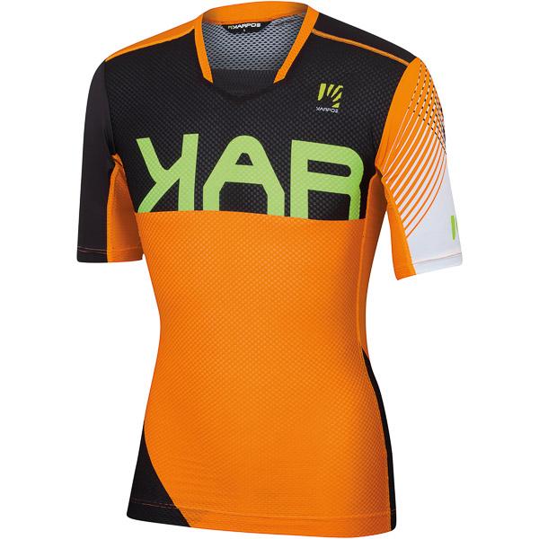 Karpos VERVE dres oranžový fluo/čierny