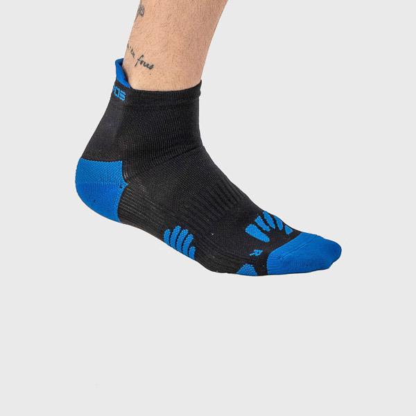 Karpos LAVAREDO ponožky čierne/zelené fluo