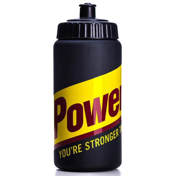 PowerBar Cycling Fľaša s veľkým logom, 500ml čierna