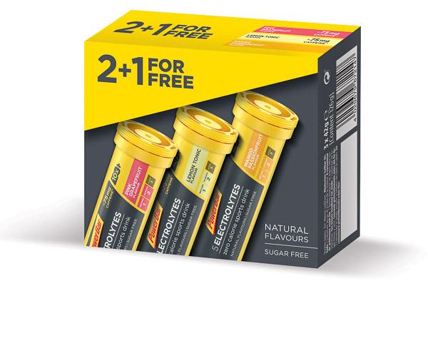 PowerBar 5 Elektrolytov 10 tabliet - Mix príchutí 2+1 zdarma