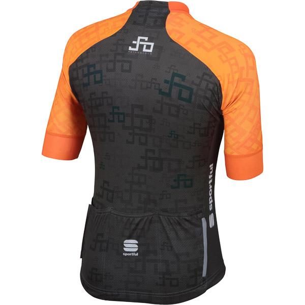 Sportful SAGAN LOGO BodyFit TEAM dres oranžový