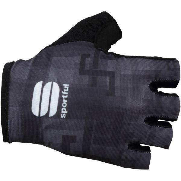 Sportful SAGAN LOGO rukavice čierne