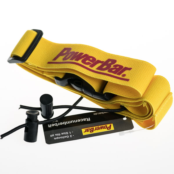 PowerBar opasok na štartové číslo žltý
