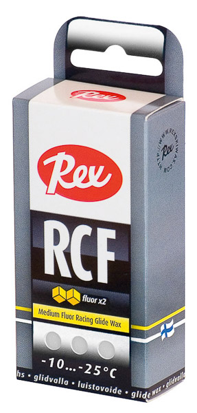 Rex strednefluórový Racing Fluor Nordic White 43 g -10...-25 C