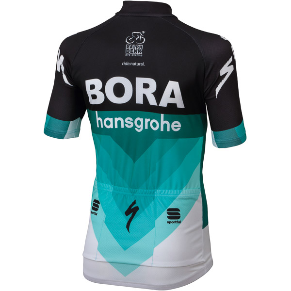 Sportful BORA HANSGROHE cyklistický dres detský