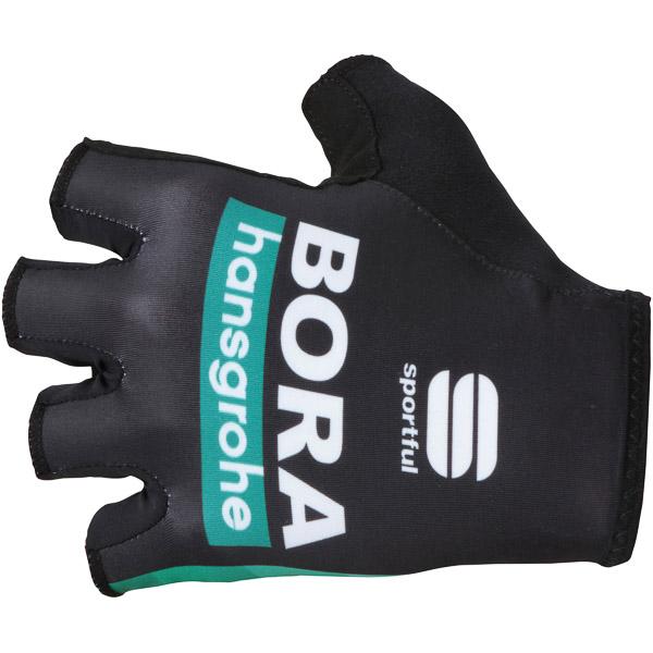 Sportful RACE TEAM Bora-hansgrohe rukavice čierne