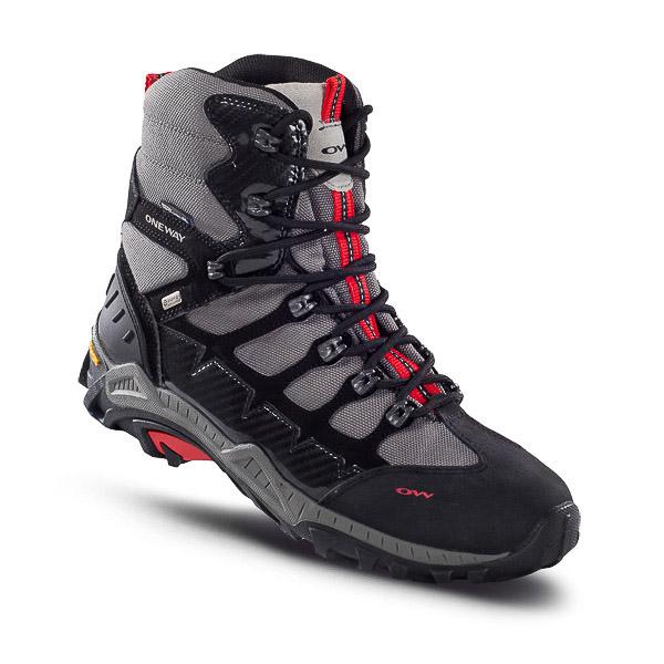 OneWay SNOWMASTER Zimné topánky čierne/strieborné
