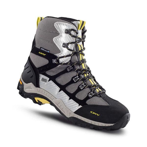 00344cabd1267 OneWay SNOWMASTER Zimné topánky čierne/sivé/žlté