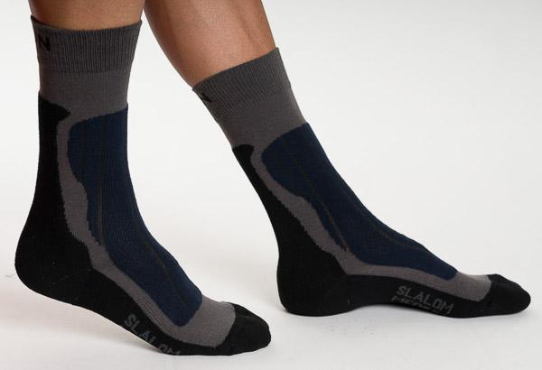 Ponožky Svitoni CDN slalom medium sivé